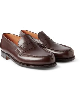 180 The Moccasin Leather Loafers