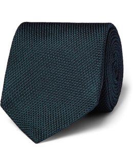Drake's 8cm Silk-grenadine Tie