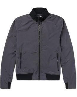 Maddox Slim-fit Shell Bomber Jacket