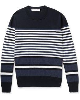 Lucas Striped Merino Wool Sweater