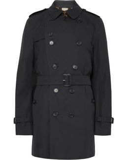Kensington Mid-length Weatherproof Cotton-gabardine Trench Coat