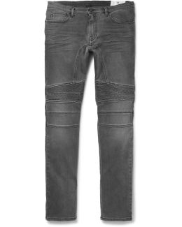 Eastham Slim-fit Washed Stretch-denim Jeans
