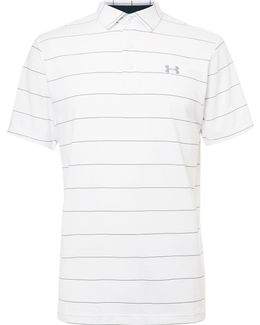 Playoff Striped Stretch-jersey Golf Polo Shirt