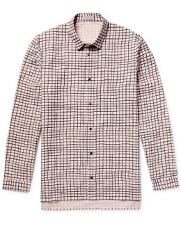 Printed Cotton-poplin Shirt