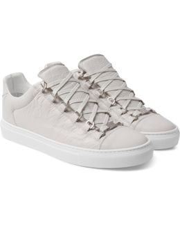 Arena Low-top Leather Trainers