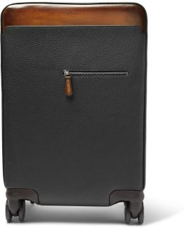 Formula 1004 Full-grain Leather Carry-on Suitcase