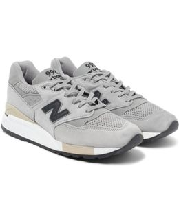 998 Suede And Shell Sneakers