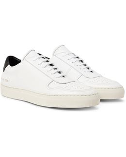 Bball Leather Sneakers