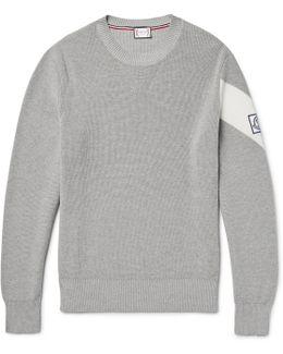 Chevron Cotton Sweater