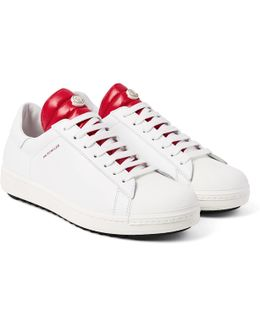 Joachim Quilted Shell And Leather Sneakers