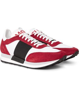 Horace Suede And Mesh Sneakers