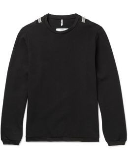 Slim-fit Cotton-blend Sweater