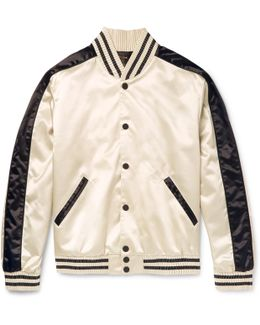 Rankin Satin Bomber Jacket