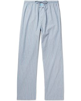 Striped Cotton Pyjama Trousers