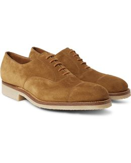 300 Suede Oxford Shoes