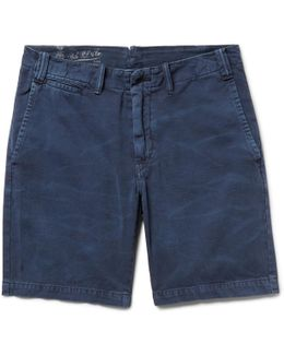 Cotton-twill Chino Shorts