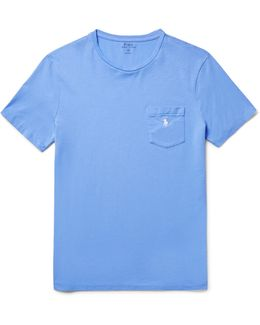 Slim-fit Cotton-jersey T-shirt
