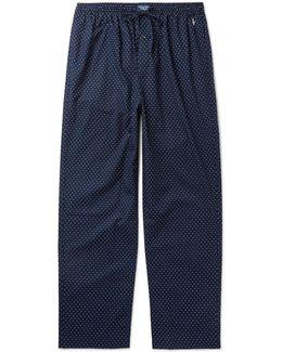 Polka-dot Cotton Pyjama Trousers