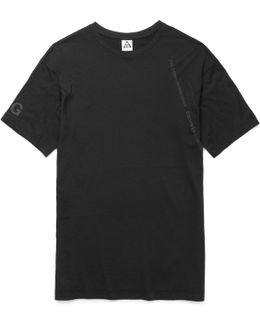 Lab Acg Wool-blend Jersey T-shirt