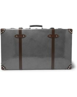 "33"" Leather-trimmed Suitcase"