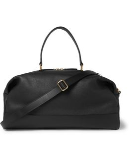 Propellor Pebble-grain Leather Holdall
