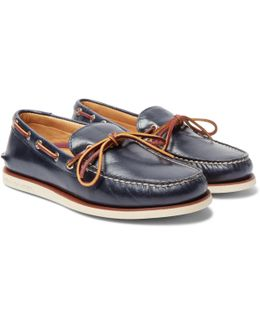Gold Cup Authentic Leather Boat Shoes