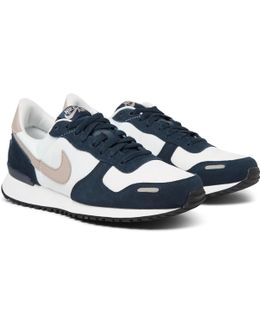 Air Vortex Suede, Leather And Shell Sneakers