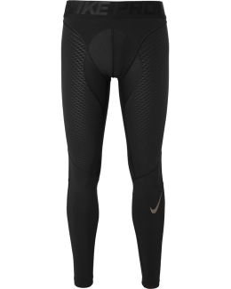 Pro Zonal Strength Mesh-panelled Dri-fit Compression Tights