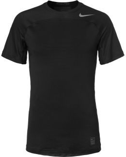 Pro Hypercool Mesh-panelled Stretch-jersey T-shirt
