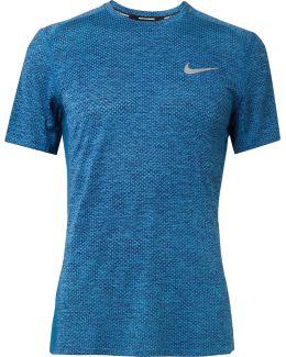 Breather Miler Mélange Dri-fit T-shirt