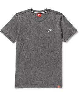 Legacy Mélange Cotton-jersey T-shirt