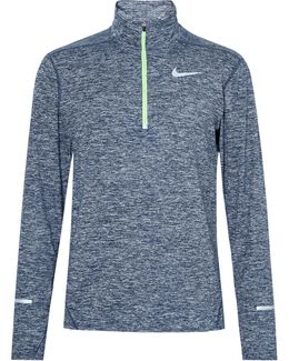Element Space-dyed Dri-fit Half-zip Top
