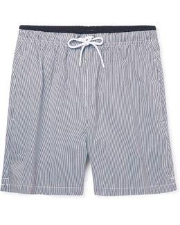 Jules Mid-length Striped Swim Shorts