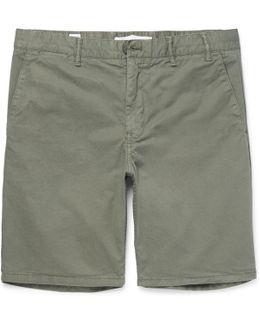 Aros Cotton-twill Shorts