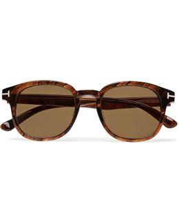 Frank D-frame Tortoiseshell Acetate Sunglasses