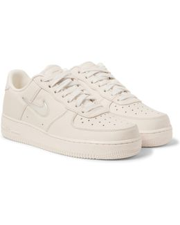 Lab Air Force 1 Jewel Swoosh Leather Sneakers