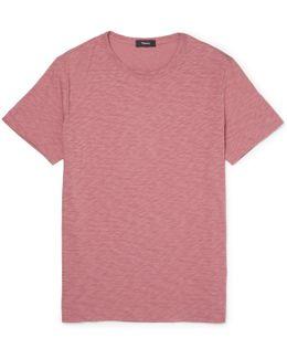 Gaskell Slim-fit Slub Cotton-jersey T-shirt