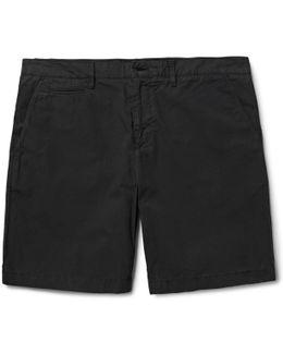 Cotton-poplin Chino Shorts