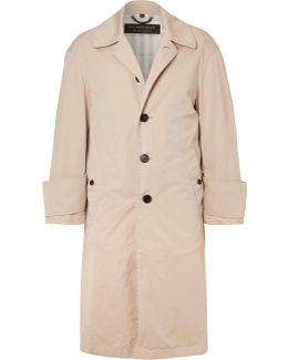 Runway Oversized Cotton-gabardine Trench Coat