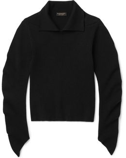 Runway Ribbed Wool-blend Sweater