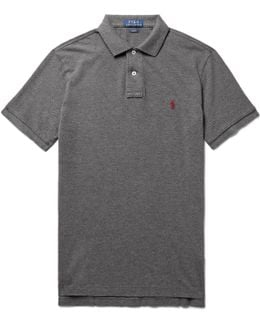 Slim-fit Cotton-piqué Polo Shirt