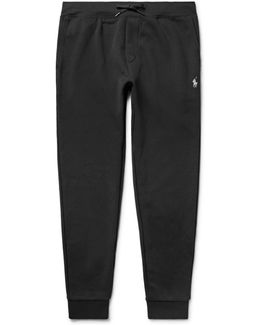 Slim-fit Cotton-blend Jersey Sweatpants