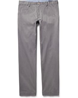 Slim-fit Pima Cotton-twill Chinos
