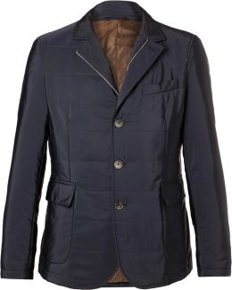 Slim-fit Quilted Shell Jacket