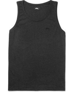Garment-dyed Cotton-jersey Tank Top