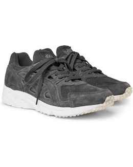 Gel-ds Og Suede And Ripstop Sneakers