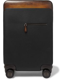Formula 1004 Full-grain Leather Suitcase
