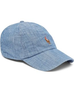 Baseball Cap Multi Player In Chambray
