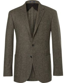Polo Yale Slim-fit Basketweave Wool Blazer