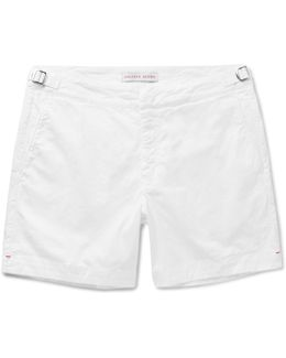 Bulldog Stretch-cotton Twill Shorts